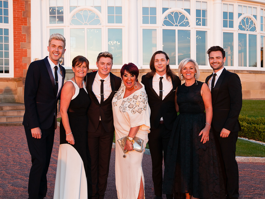 Summer Ball Committee with Collabro