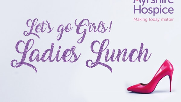 Lets Go Girls! Ladies Lunch Logo